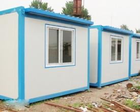 彩钢活动房安装